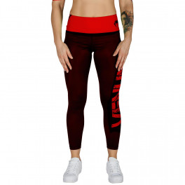Лосины venum power black red