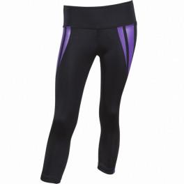 Лосины venum body fit black purple