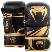 Тренировочные перчатки venum challenger 3.0 black gold