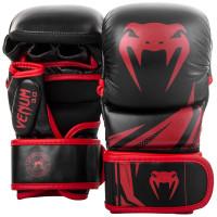 Тренировочные перчатки venum challenger 3.0 black red