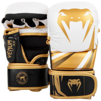 Тренировочные перчатки venum challenger 3.0 white gold
