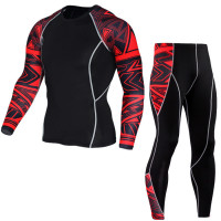 Спортивный комплект under armour heat gear black 0917