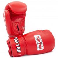 Боксерские перчатки top ten aiba red