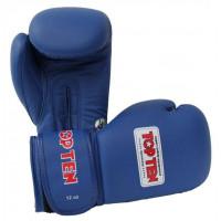 Боксерские перчатки top ten aiba blue