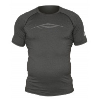 Рашгард under armour heat gear short sleevels grey 11