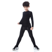Спортивный комплект under armour heat gear kids black