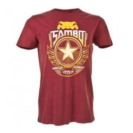 Футболка VENUM SAMBO - RED