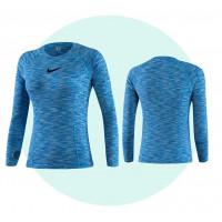 Рашгард женский nike long sleevels 5019 blue