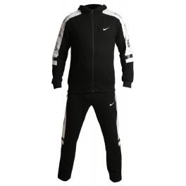 Мужской спортивный костюм nike air black white 804463