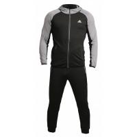 Спортивный костюм adidas perfomance black grey 909