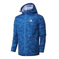Мужская ветровка adidas perfomance camo blue af022