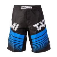 Шорты ранговые tatami black blue ibjjf