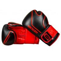 Боксерские перчатки cross flagship black