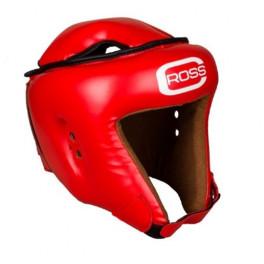 Шлем боксерский cross kik top red кожа