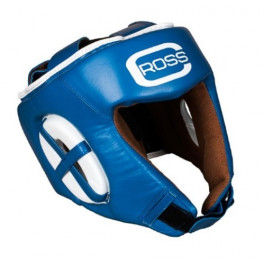 Шлем боксерский cross olimp blue