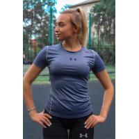 Спортивная футболка under armour grey 2103