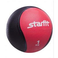 Медбол starfit pro gb702 red 1кг