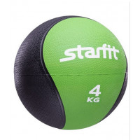 Медбол starfit pro gb702 green 4кг