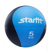 Медбол starfit pro gb702 blue 5кг