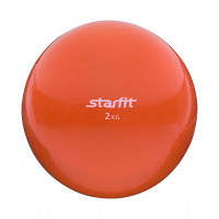 Медбол starfit gb703 orange 2кг