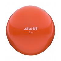 Медбол starfit gb703 orange 2кг