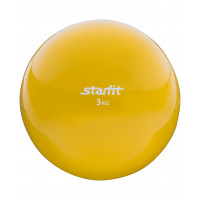 Медбол starfit gb703 yellow 3кг