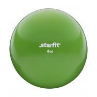 Медбол starfit gb703 green 4кг