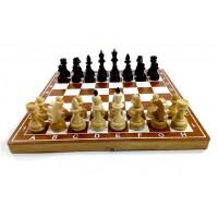 Шахматы гроссмейстерские бук тонированные М