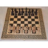Шахматы смешанные бук малые