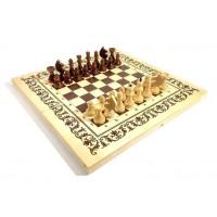 Шахматы три в одном лак