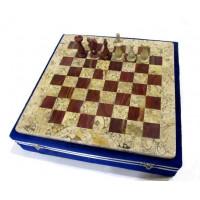 Шахматы яшма оникс люкс