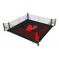 Боксерский ринг vieland напольный на упорах 6x6