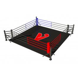 Боксерский ринг vieland напольный на упорах 4x4