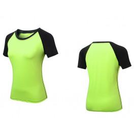 Спортивная футболка yellow 2053