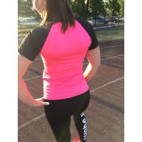 Спортивная футболка pink 2053