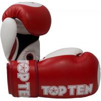 Перчатки для кикбоксинга top ten star xlp wako red