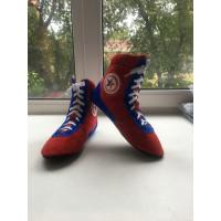 Обувь для самбо красные