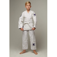 Детское gi bjj lion pro 2.0- white purple