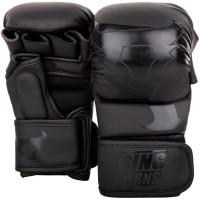 Тренировочные перчатки ring horns black