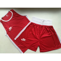 Боксерская форма nike boxing red