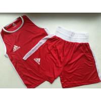 Боксерская форма adidas boxing red