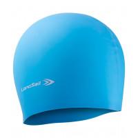 Шапочка для плавания детская longsail blue white