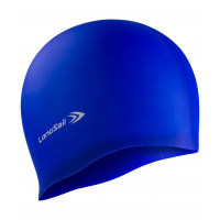 Силиконовая шапочка для плавания longsail blue