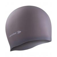 Силиконовая шапочка для плавания longsail dark blue