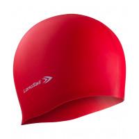 Силиконовая шапочка для плавания longsail green