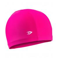 Силиконовая шапочка для плавания longsail red