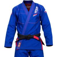 Кимоно для бжж venum elite bjj gi - blue (только куртка)