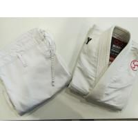 Детское кимоно для бжж rollology white (только куртка)