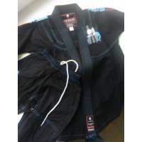 Детское кимоно для бжж verus - black
