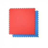 Напольное покрытие ласточкин хвост 100см красный синий